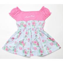 Платье розовое на малышку прелесть